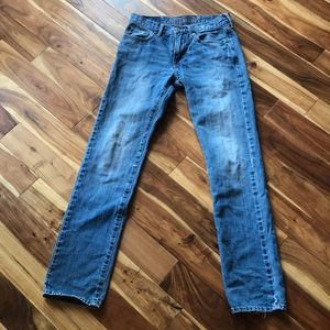 Hollister slim straight men's jeans 28/34 length